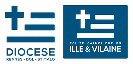 Diocese de rennes dol saint malo 2013 logo