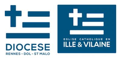 Diocese de rennes dol saint malo 2013 logo 1