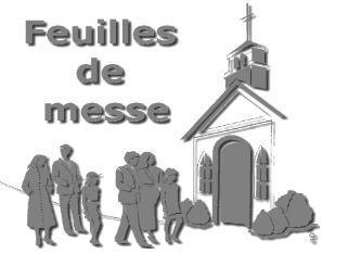 Feuille de messe saint vincent de paul saint malo