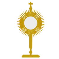Kisspng monstrance eucharist first communion clip art holy communion 5ac0dcf43e5bb4 0328589015225889162554